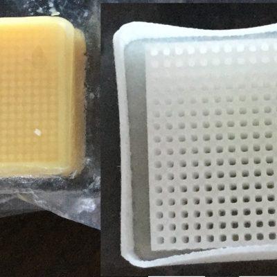 キーエンス製3Dプリンタ造形物のサポート材除去